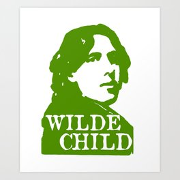 Wilde Child Art Print