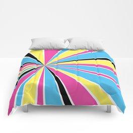 CMYK Star Burst Comforters