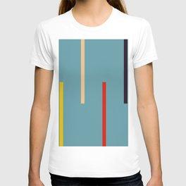 Abstract Classic Stripes Mirian T-shirt
