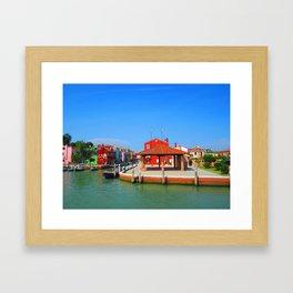 Drunken Fishermen Framed Art Print