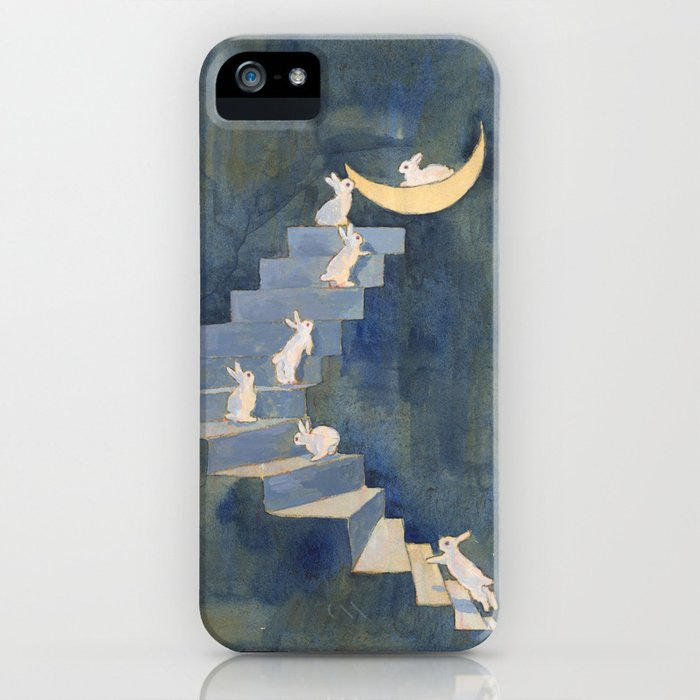 stairway to the moon iphone case