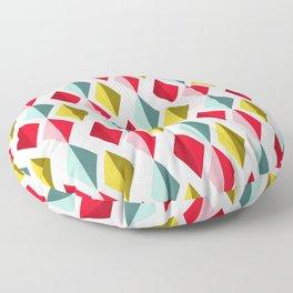 ABSTRACT GEOMETRIC XXI Floor Pillow