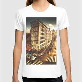 chinatown in nyc at dusk T-shirt