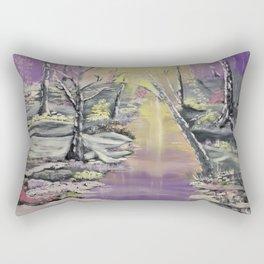 Warm winter beauty Rectangular Pillow