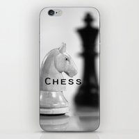 chess iPhone & iPod Skins featuring Chess by Falko Follert Art-FF77