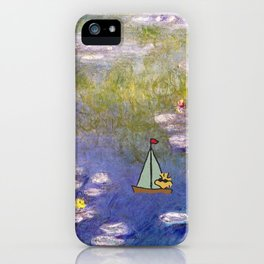 Snoopy meets Monet iPhone Case