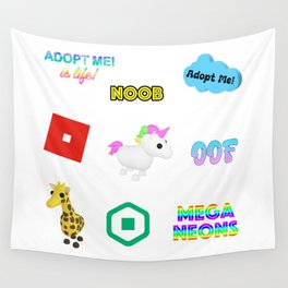 Oof Sound Maker Roblox Wall Tapestry By Devotchicken Society6 Oof Wall Tapestries For Any Decor Style Society6