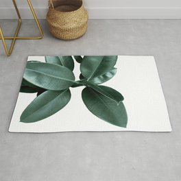 Rubber fig Plant Rug