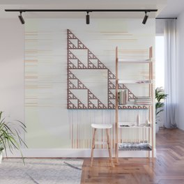 Fractal Triangle Wall Mural