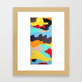 Active Drifting - Bay Series Framed Art Print