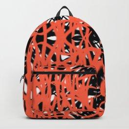 Orange | Saro-Gongo Pattern Design Backpack