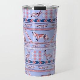 Geometric Howl Travel Mug
