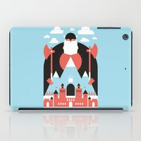 mountain iPad Cases featuring King of the Mountain by Chase Kunz
