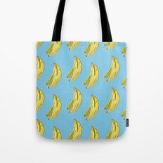 Banana Watercolor Tote Bag