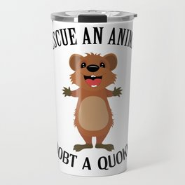 Quokka Australia Kangaroo Marsupial Animal Rescue Travel Mug
