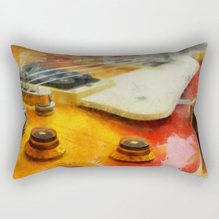 Les Paul Std 1958 Vos Rectangular Pillow