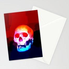 Skull02 Stationery Cards