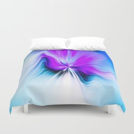 Abstract Moving Butterfly Design Duvet Cover