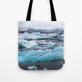 Jökulsárlón Glacier Lagoon, Iceland Tote Bag
