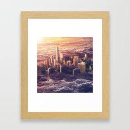 New York: Through The Roof Framed Art Print