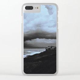 La tormenta Clear iPhone Case