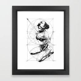Restrained In Geometry. ©Yury Fadeev Framed Art Print