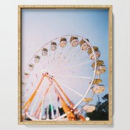 Ferris Wheel 4 Serving Tray