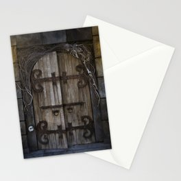 Gothic Spooky Door Stationery Cards