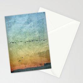 Birds in Flight Stationery Cards
