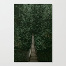 Into the Wilderness Canvas Print