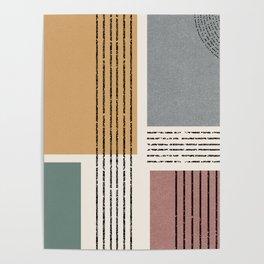 Modern Geo Design  Poster