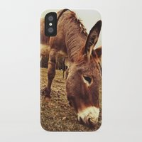 donkey iPhone & iPod Cases featuring Donkey by XXXX