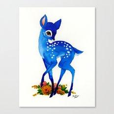 Blue Fawn Canvas Print