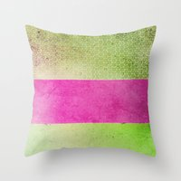 olivia joy Throw Pillows featuring Color Joy by Olivia Joy StClaire
