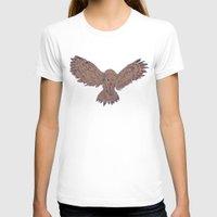 hunting T-shirts featuring Hunting Owl  by Ben Bauchau