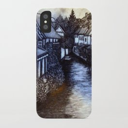 Irish Village iPhone Case