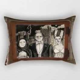 Downton Abbey Normal (Young Frankenstein Mashup) Rectangular Pillow