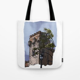 Tower of the palace (color) Tote Bag