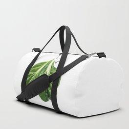 Edible Ensembles: Tatsoi Duffle Bag