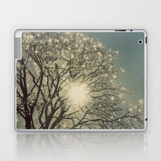 Winter Sparkle Laptop & iPad Skin