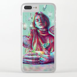 In Your Hands Clear iPhone Case