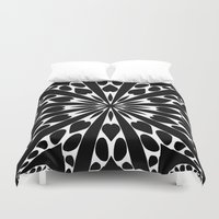 elegant Duvet Covers featuring Elegant by Abstracts by Josrick