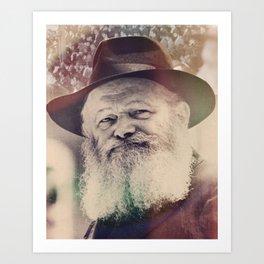 Rebbe, Inspire me.  Art Print