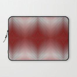 Red Blurr Abstract Diamond Laptop Sleeve