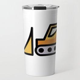 Backhoe Cute Gift Idea Travel Mug