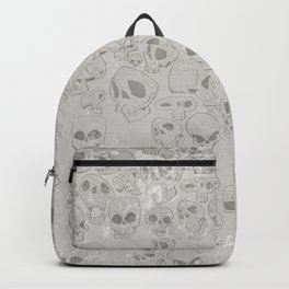 Skulls Pattern Backpack