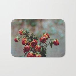Windowsill Roses no. 1 Bath Mat