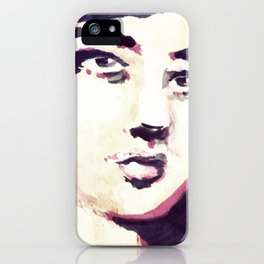 Portrait 116 iPhone Case