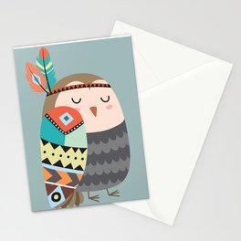 tribal bird Stationery Cards