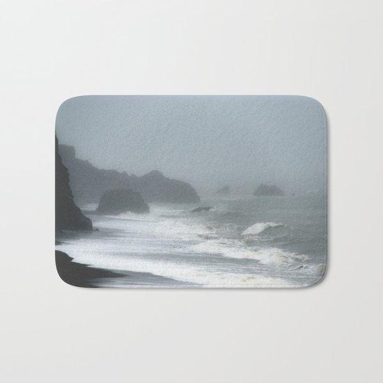 Pacific Northwest Beach Storm Bath Mat